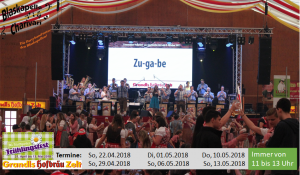 Stuttgarter Frühlingsfest in Grandls Hofbräuzelt 2018